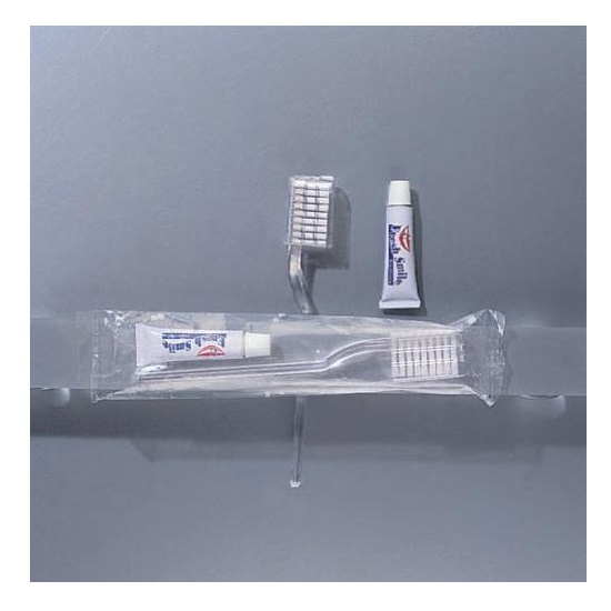 SET DENTI FLOW-PACK TRASP. PZ.1 (200) E09T